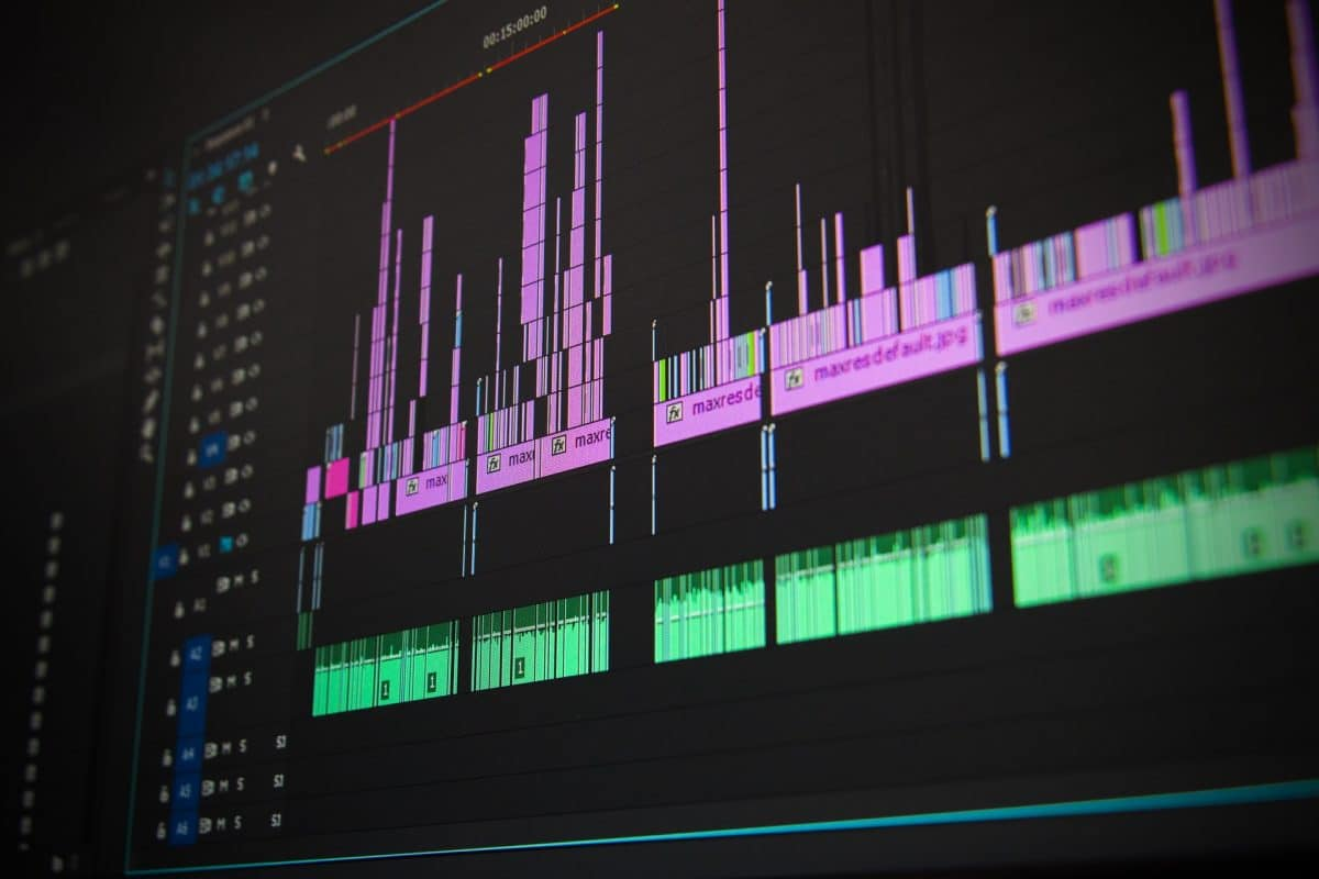 Umsetzung mit Video-Programm After Effects
